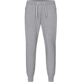 super.natural City Pantalones Hombre, silver grey melange